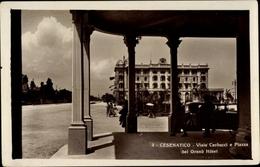 Cp Cesenatico Emilia Romagna, Viale Carducci E Piazza Del Grand Hotel - Italia