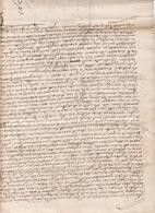 Gen D'Auch Et De Pau 17 Dec 1731 Plan Figuratif Du Bois De La Commune De Blajan 4 Scans - Cachets Généralité