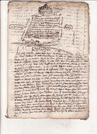 Gen De Montauban Foix Et Bigorre 23 Juin 1683 Procés Verval De Bornage Des Bois Communaux De LESPITAU 8 Scans - Cachets Généralité
