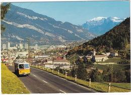 Chur: SAURER POST-AUTOBUS ALPENWAGEN - Rheintal Und Dem Falknis  - (Suisse/Schweiz) - Toerisme