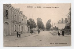 - CPA SELLES-SUR-CHER (41) - Avenue Du Bourgeau (GENDARMERIE NATIONALE) - Edition P. Duvoux - - Selles Sur Cher
