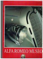 Alfa Romeo Museo Guida Alla Visita 36 Pag Testi Italiano / Inglese - Motori