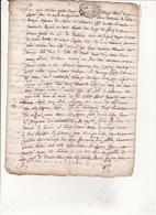 Gen De Montauban Foix Et Bigorre 27 Sept 1683Procés Verval De Bornage Des Bois Communaux Du Lieu De Mouraup  8 Scans - Cachets Généralité