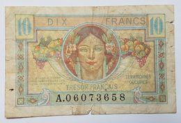 BILLET - FRANCE - P.M.7a - 10 FRANCS - TRESOR FRANCAIS - TERRITOIRES OCCUPES - MOISSON - Tesoro