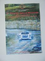Affiche POSTER MANIFESTO 2 TROFEO DELLE MADONIE RADUNO REGOLARITA' AUTOSTORICHE Porsche - Manifesti
