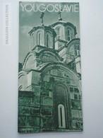ZA149.4  Toursim Brochure - Yougoslavie -Yugoslavia - Bosnia- Sarajevo - Mostar  Visoki Decani Pocitelj  Ca 1937 - Dépliants Touristiques