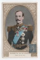- CPA FAMILLES ROYALES - HAAKON VII, ROI DE NORVEGE - PARIS, 27 MAI 1907 - - Familles Royales