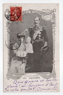 - CPA FAMILLES ROYALES - FAMILLE ROYALE DE NORVÈGE 1907 - - Familles Royales