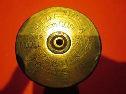 2 Douilles D'obus De 37 Gun Mle 16 Et 37 GB Démilitarisées - Armes Neutralisées