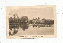 Photographie ,image ,  Château De FONTAINEBLEAU , SEINE ET MARNE , 2 Scans - Vieux Papiers
