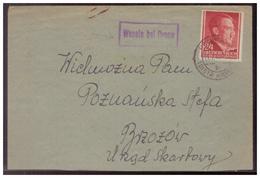 GG (007493) Brief Mit Landpoststempel Wesola Bei Dynow Gelaufen Am 17.2.1943 - Besetzungen 1938-45