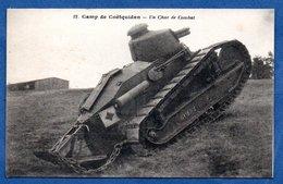 Camp De Coëtquidan  -  Un Char De Combat - Francia