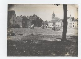 Lacapelle Marival. Batteurs De Blé. Photo Originale 1903. - Lacapelle Marival