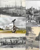 Lot De 1800 Cartes (CPA, CPSM) Type Drouille à Trier: France, Monde, Villes, Villages, Fantaisie, Militaria, Ports... - Cartes Postales