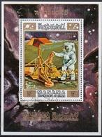 Manama 1971 Bf. 117A Espace Spazio Space Apollo 15 Sheet Perf. CTO Luna Moon - FDC & Commemoratives