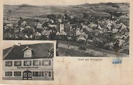 CPA ALLEMAGNE / GRUSS AUS KÖNIGSTEIN / CARTE DOUBLE VUE - Germany