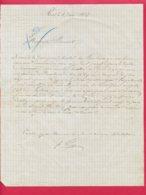 FACTURE (Réf : D534) BRASSERIE Fçois FINES À REVEL (Hte Garonne) - 1800 – 1899