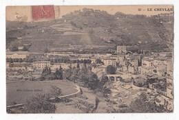 Carte Postale Le Cheylard Vue Générale - Le Cheylard