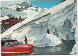 Rhonegletscher: NASH METROPOLITAN HARDTOP '56, VW 1200 KÄFER/COX - Belvédère - Eisgrotte - (Suisse/Schweiz) - Toerisme