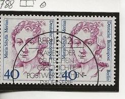 1987-Femmes  Célébres.-Paire. - Berlin (West)