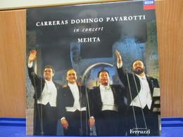 LP389 - CARRERAS DOMINGO PAVAROTTI - IN CONCERT - MEHTA - Compilations
