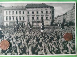 GERMANIA  ALLEMAGNE  GERMANY  Parata A Meiningen 1931 NAZISMO PROPAGANDA - Guerra 1939-45
