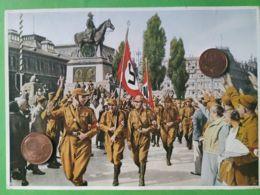 GERMANIA  ALLEMAGNE  GERMANY  Parata A Norimberga 1929 NAZISMO PROPAGANDA - Oorlog 1939-45