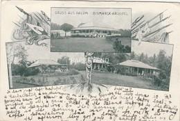 German New Guinea Gruss Aus Ralum Early Vignette   Opi13 - Papouasie-Nouvelle-Guinée