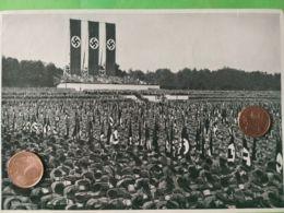 GERMANIA  ALLEMAGNE  GERMANY  Parata Militare Norimberga 1933 NAZISMO PROPAGANDA - Oorlog 1939-45