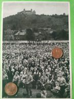 GERMANIA  ALLEMAGNE  GERMANY  Adunata Coburgo 1932 NAZISMO PROPAGANDA - Guerra 1939-45