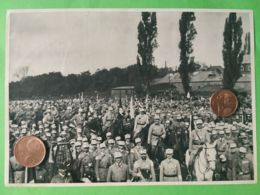 GERMANIA  ALLEMAGNE  GERMANY  Adunata Orimberga 1923 NAZISMO PROPAGANDA - Oorlog 1939-45