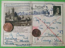 GERMANIA  ALLEMAGNE  GERMANY  Cartolina Postale 27/2/1942 Kiel  NAZISMO - Guerra 1939-45
