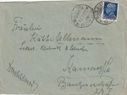 ITALIE 1938 LETTRE DE GRADO - 1900-44 Vittorio Emanuele III