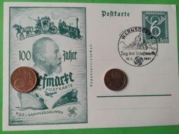 GERMANIA  ALLEMAGNE  GERMANY  Cartolina Postale 12/1/1941  NAZISMO - Guerra 1939-45
