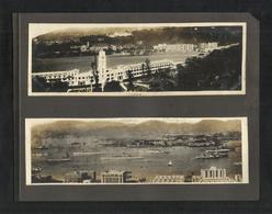 China Macao Lot 4 Old Black & White Picture Photography Photo View Card On Card Front Or Back - China