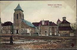 Cp Villiers Sur Marne Val De Marne, L'Eglise - Francia