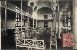 Cp Villiers Sur Marne Val De Marne, Oeuvre Dormesson, Pavillon Des Enfants De France, Vue Interieure - Francia