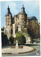CPM . MONTBELIARD . FACADE ORIENTALE DE L'ANCIEN CHATEAU DES COMTES . CARTE NON ECRITE - Montbéliard