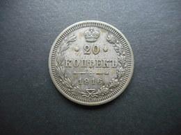 Russia-Empire 20 Kopeks 1916 Nikolai II - Rusland