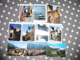 LOT  DE 10  CARTES POSTALES  VIERGES  DE  CONFLANS  ALBERTVILLE - Cartes Postales
