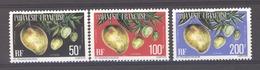 Polynésie  -  Services  -  1977  :  Yv  13-15  ** , Gomme Mate, Dentelé 12 1/2 - Service