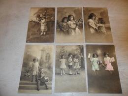Enfants ( 2317 )   Enfant  Kind  Fillette  - 6 Cartes Postales - Enfants