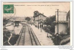 92 BOURG LA REINE Intérieur De La Gare - Vue Générale Des Lignes De Sceaux-Limours - Colombes