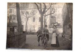 Lyon.39 Montée Du Gourguillon.Le Clôs Vendôme.Photo Prise A L'interieur Du Clôs Vendôme.Photo Originale 1902. - Sonstige