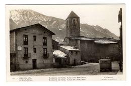 ANDORRE - ANDORRA LA VELLA Plaça Dr. Benlloch - Andorra