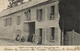 1 Cpa Boissy L'aillerie - Entrée De L'oiseau Bleu - Boissy-l'Aillerie