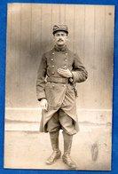 Carte Photo  -  Soldat Français - Guerre 1914-18