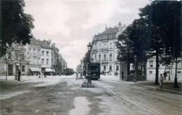 Bruxelles - Place Stéphanie - Les Trams - Avenues, Boulevards