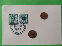 GERMANIA  ALLEMAGNE  GERMANY  Cartolina Postale  10/4/1938  NAZISMO - Guerra 1939-45