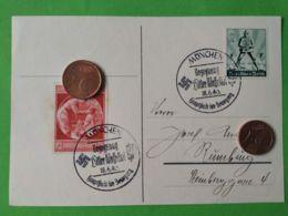 GERMANIA  ALLEMAGNE  GERMANY  Cartolina Postale  Monaco 18/6/1940 - Guerra 1939-45